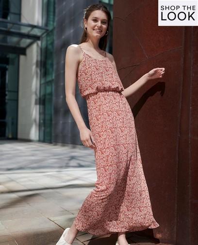 Zomers in deze stijlvolle maxi-jurk!
